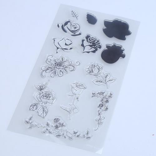 1PCS LOT Transparent Stamp For DIY Scrapbooking