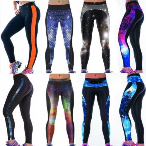Sport / Fitness / Yoga Legging Sportlegging print work out