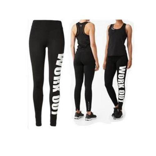 Work out legging! Zwart