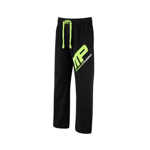 MusclePharm Sportswear Jog Pant Black Lime-Green