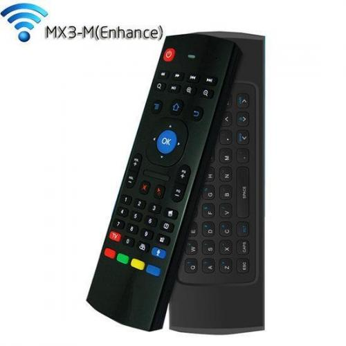 MX3-M Wireless Air Mouse 2.4GHz Double Keyboard With Voic...