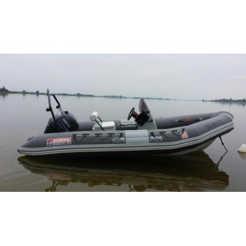 Snelle Narwhal 480 proffesional 2014, Yamaha F60 injection