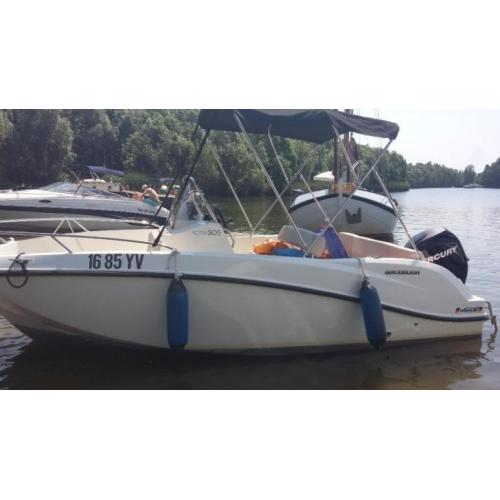 boot quicksilver 505 activ 2012 full options NIEUW MODEL.