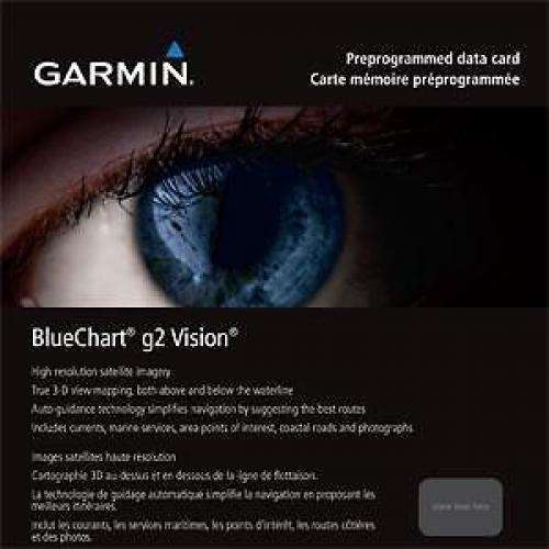 Garmin BlueChart g2 of g2 Vision op Micro-SD of SD, Nieuw