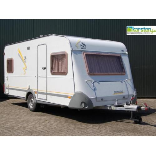 Knaus Sudwind 450 TF incl. Mover Voortent