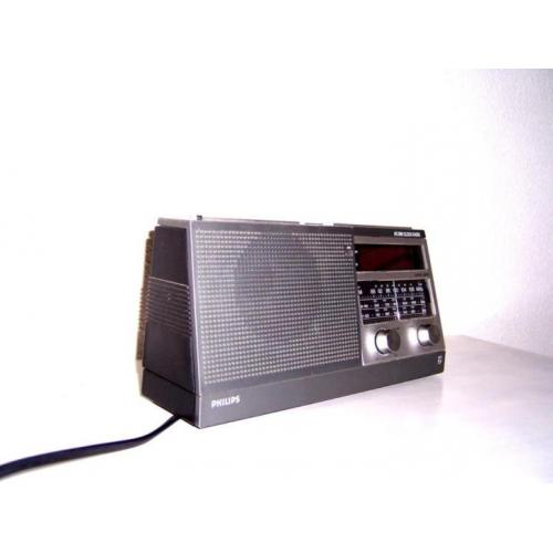 Vintage Philips clockradio [N379.0214H]