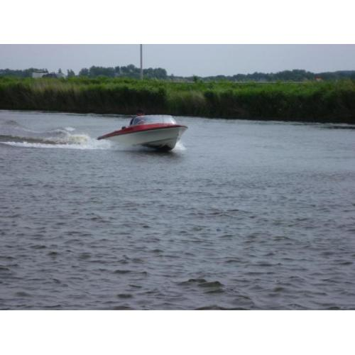 motorboot 4 meter incl trailer