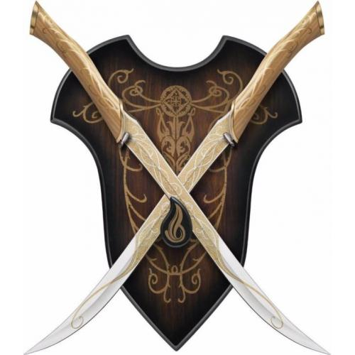Legolas fighting knives The Hobbit United Cutlery