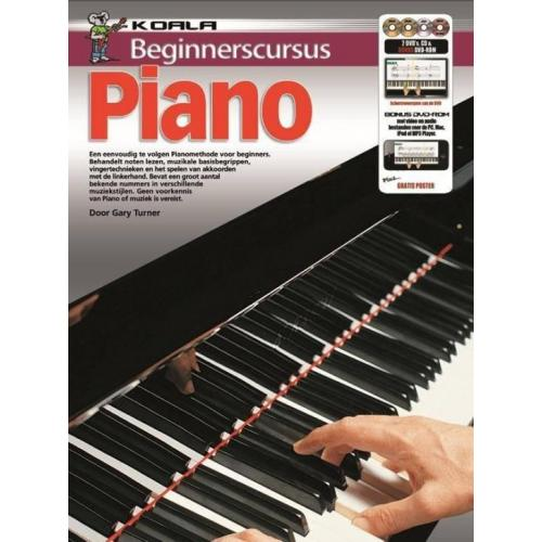 Beginnerscursus Piano | Boek + CD + DVD