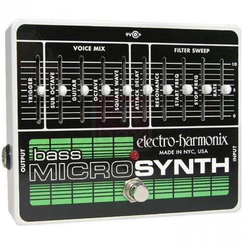 Electro Harmonix Bass Micro Synthesizer effectpedaal