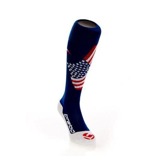 Brabo Flag Sock USA hockeysokken (Aktie)