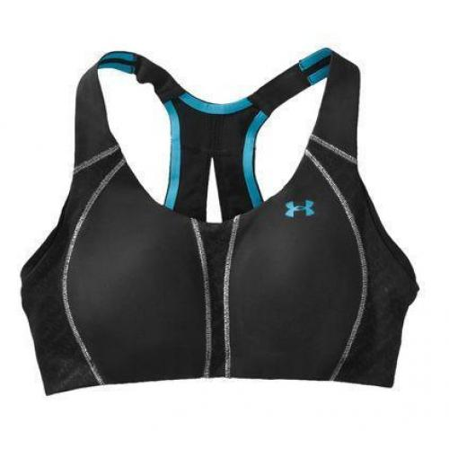 Under Armour Women's Armour Bra® B Cup zwart/blauw
