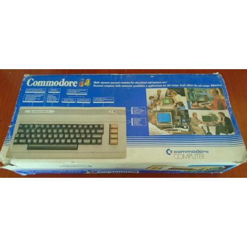 Commodore 64 Boxed with working extras full setup