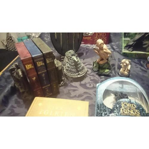 Mooie collectie lord off the rings inclusief boxsets