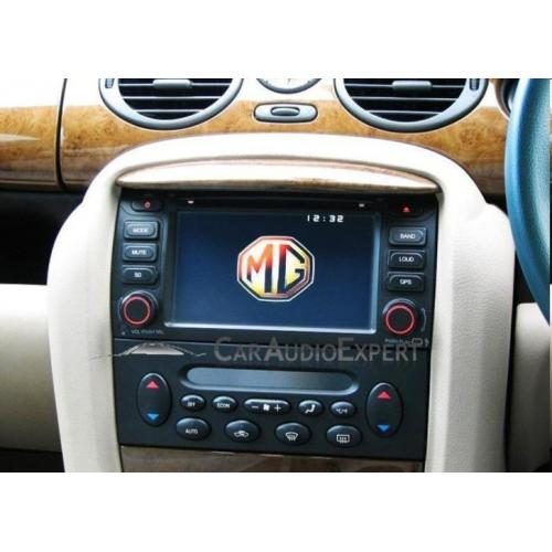 MG ZT / Rover 75 radio navigatie multimedia bluetooth dvd