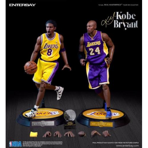 NBA Kobe Bryant LE Duo Pack Action figure 1/6 Enterbay