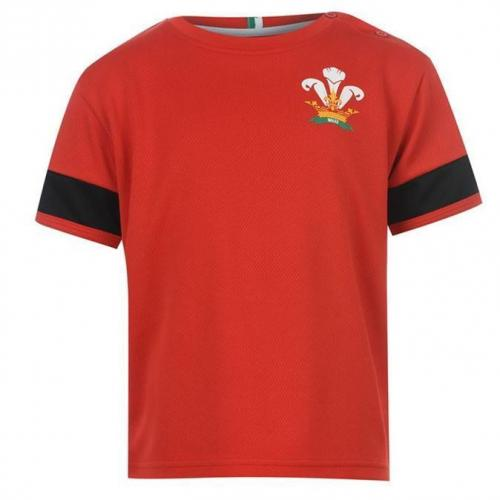 Team Red Wales Rugby Mini Kit Rood 102 110