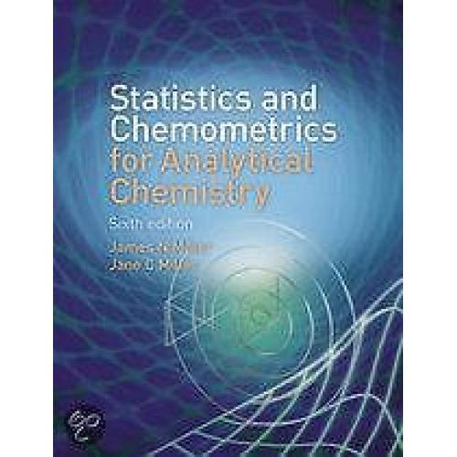 9780273730422 Statistics and Chemometrics for Analytical Che