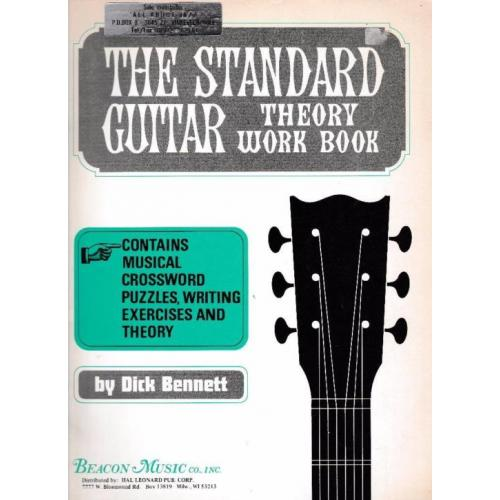 The Standard Guitar Theory Work Book (h79)