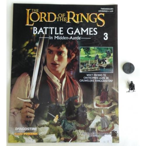 THE LORD OF THE RINGS BATTLE GAMES 3 met Frodo GAMES WORKSHO