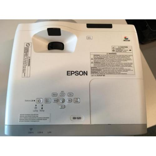 Epson EB-520 Short-throw beamer