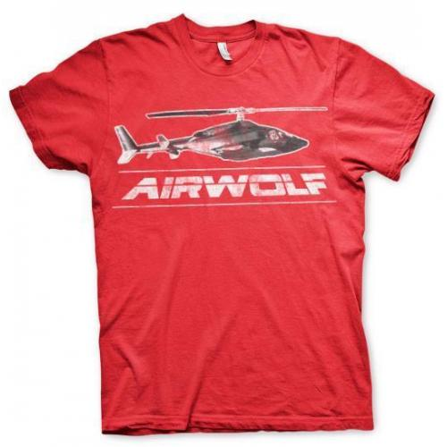 Airwolf Chopper Vintage Heren T-Shirt