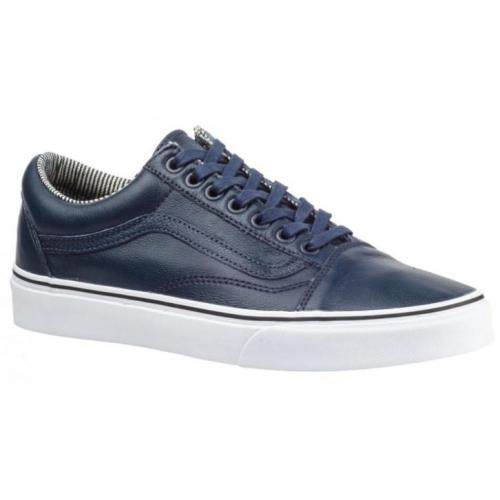 Vans Sneakers Old Skool Leather Dress unisex blauw maat 44