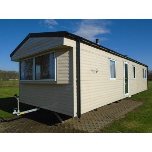 Nieuwe Willerby Minstral dubbelglas en CV incl. transport