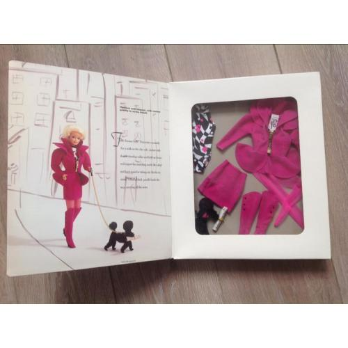Barbie kleding fifth Avenue style fashion 1992 met poedel