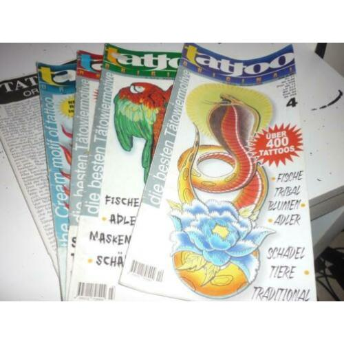 Tattoo bladen original 16x