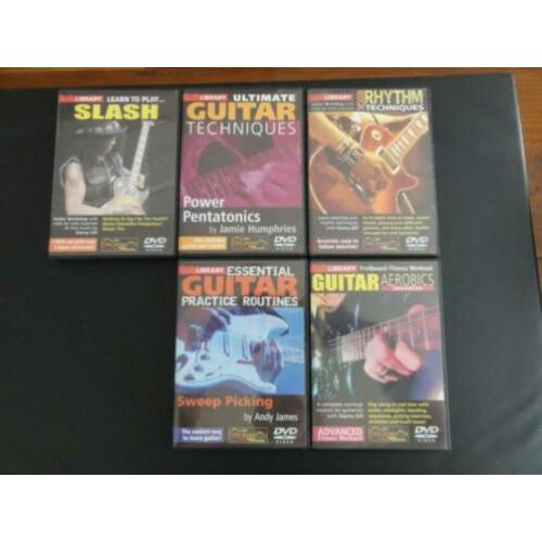 Lick Library gitaarcursussen waar onder Learn to play Slash