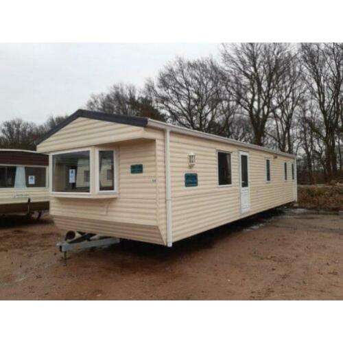 Willerby Bermuda 2 slpk dubbel glas & CV incl. transport