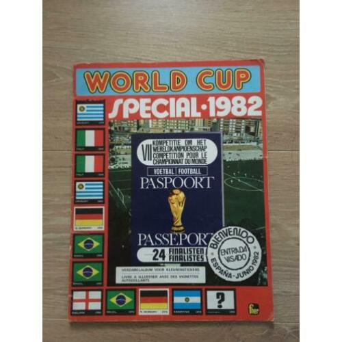 FKS World Cup Special 1982 leeg album !!
