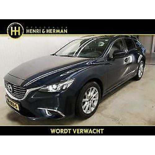 Mazda 6 2.0 Skylease GT (LEER/Camera/LED/NAV/1ste eig.)