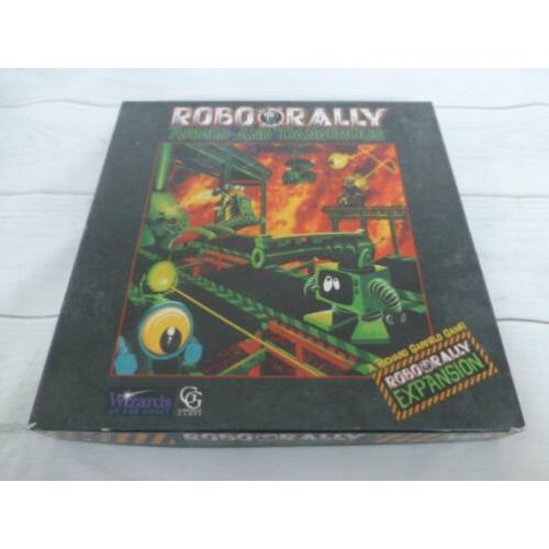 *collectors item* Robo Rally Armed and Dangerous ©1995