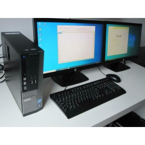 Dell Optiplex 3010 Quad Core i5 4x3,2GHz 250gb + 2x 22