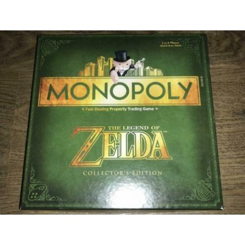Monopoly The legend of ZELDA Collector 's Edition