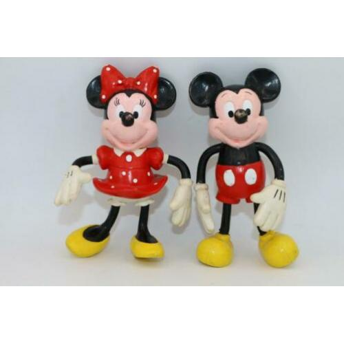 Mickie Minnie Applause PVC figuren vintage buigbaar cadeau