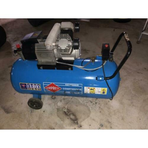 2 cilinder compressor airpress 100 / 350