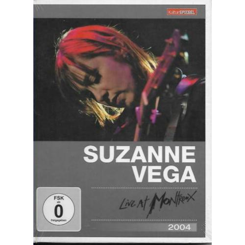 Suzanne Vega :  Live At Montreux 2004  DVD - 2011