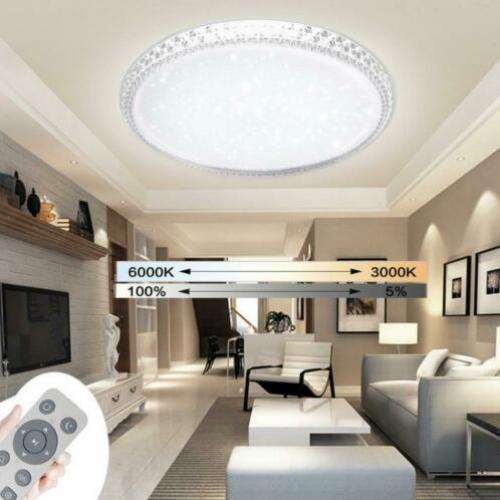 24W dimbare LED-plafondlamp Crystal woonkamer hal licht