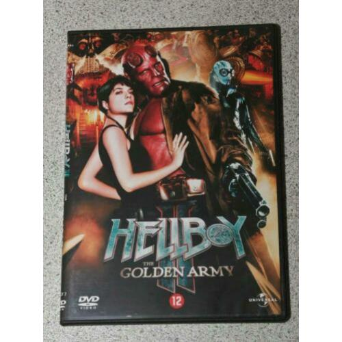 Hellboy. The golden army. SF-actiefilm.