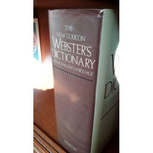 Webster's Dictionary Deluxe Enc. Ed.