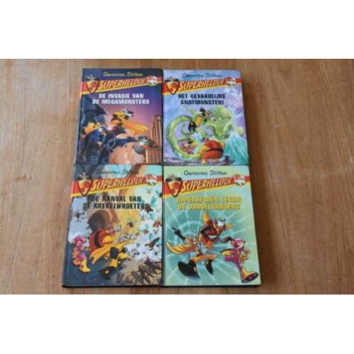 Superhelden 2, 3, 4, 5 - Geronimo Stilton