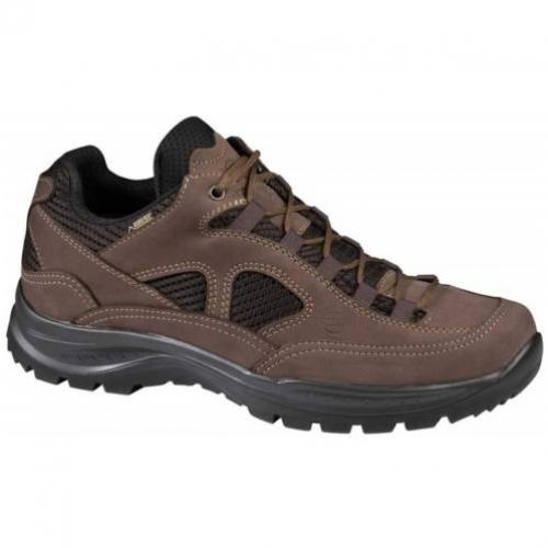 Hanwag Gritstone Wide GTX Light Brown Wandelschoenen Heren